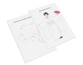 karty pracy Montessori Azja