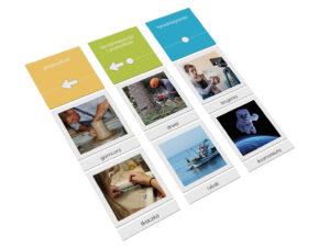 karty Montessori zawody