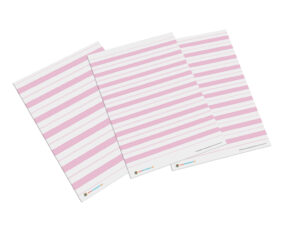 liniatura Montessori materiał różowy
