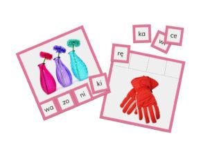 karty Montessori sylaby