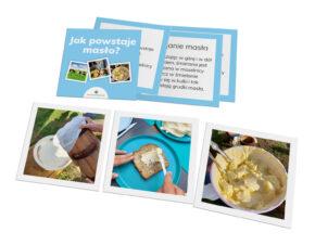 karty Montessori Jak powstaje masło