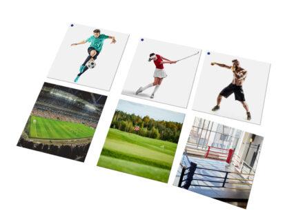 karty Montessori sportowcy